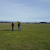 Genes Glider first flight