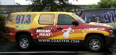 Radio station and television Wraps
