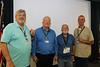 Morse code group with new award pins