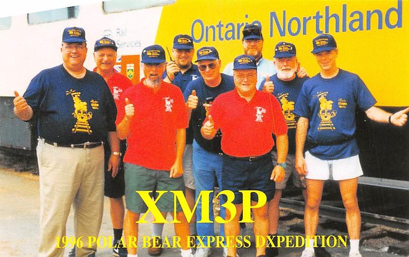 XM3P Polar Bear Express Dxpedition 1996