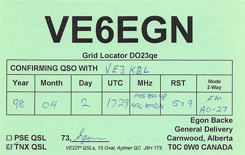 VE6GN via AO-27