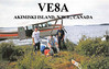 VE8A Akimiski Island NA-207 IOTA NW-033 CISA contact with VE3KBL in Moosonee 1996 August 5 1143 UTC 3.7 MHz