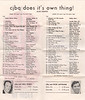 """Radio station CJBQ hit list for week of ( 1969 ) May 3. Dual hit lists. Pictures of Neil Kirby and Dick Lovering. """"cjbq does it's own thing!"""" 30/30 survey. Year not shown but 1969. Week of May 3 to May 9."""