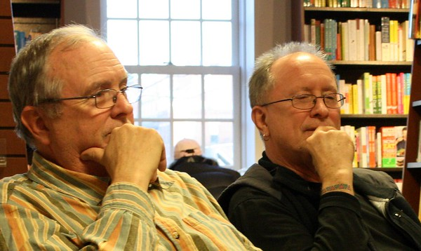 11.04.15 William & Richard Ayers at Harvard Coop in Cambridge, MA