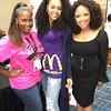 Michelle Boyd, Demetria McKinney Lynn Whitfield attend Essence Festival - 99 Jams - July 1, 2016 in New Orleans, LA
