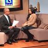 Demetria McKinney on Fox 13 News - February 13, 2015 in Memphis