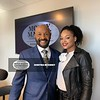 Rushion McDonald and Demetria McKinney at Money Making Conversations headquarters - 2020