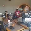 Demetria McKinney visit Jessica and Larry at Power 98 Radio Station - July 28, 2016 in Charlotte, NC