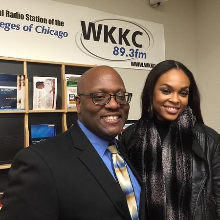 WKKC 89.3FM College Radio Station - March 26, 2015 in Chicago, IL