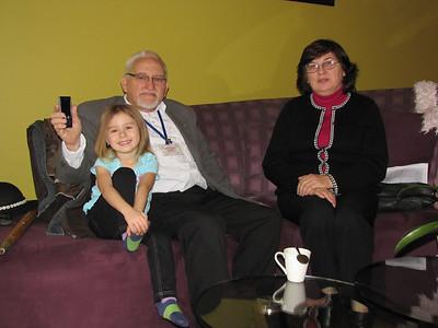 Elizabeth Oliwkiewicz Allen i Zbigniew Roth w Radiu ZPPA