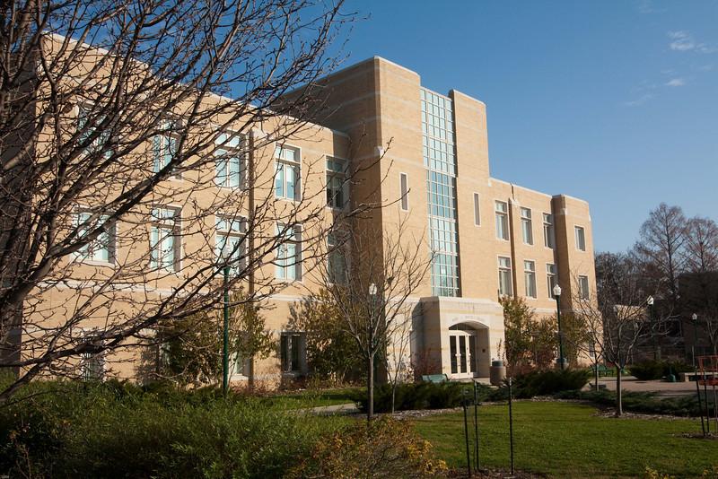 Mary J. Booth Library, Eastern Illinois University, Charleston, Illinois