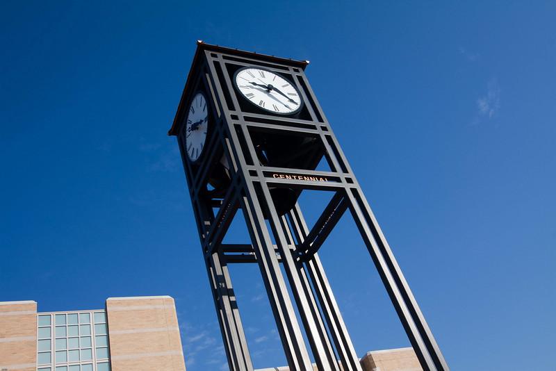 Alumni clock tower, Eastern Illinois University, Charleston, Illinois