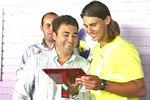 Member of Honour of the Mallorca Tennis Club in Palma (31jul06)