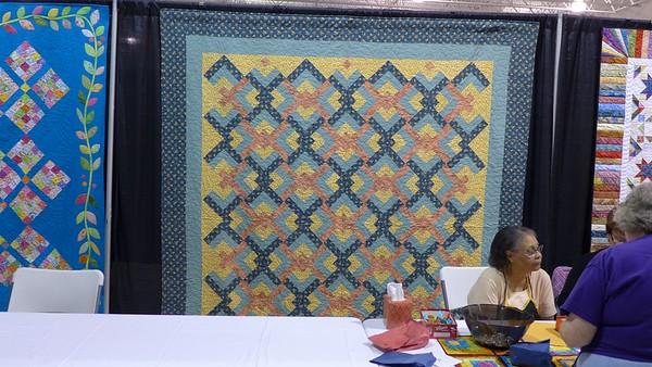 GTP15 B Raffle Quilts 6 - Quilt by Jean Kaufmann.