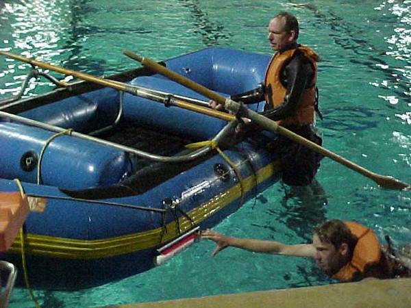 Rescue Rung Raft Entry Ladder