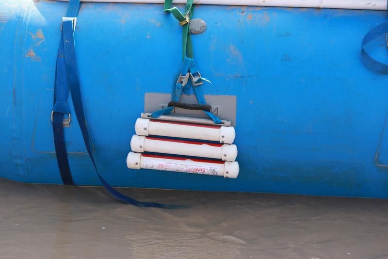 Rescue Rung Raft Ladder, 3-step