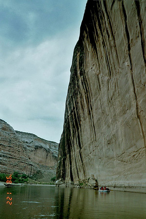 Gates of Lodore, Green River, Colorado, July 19, 2001