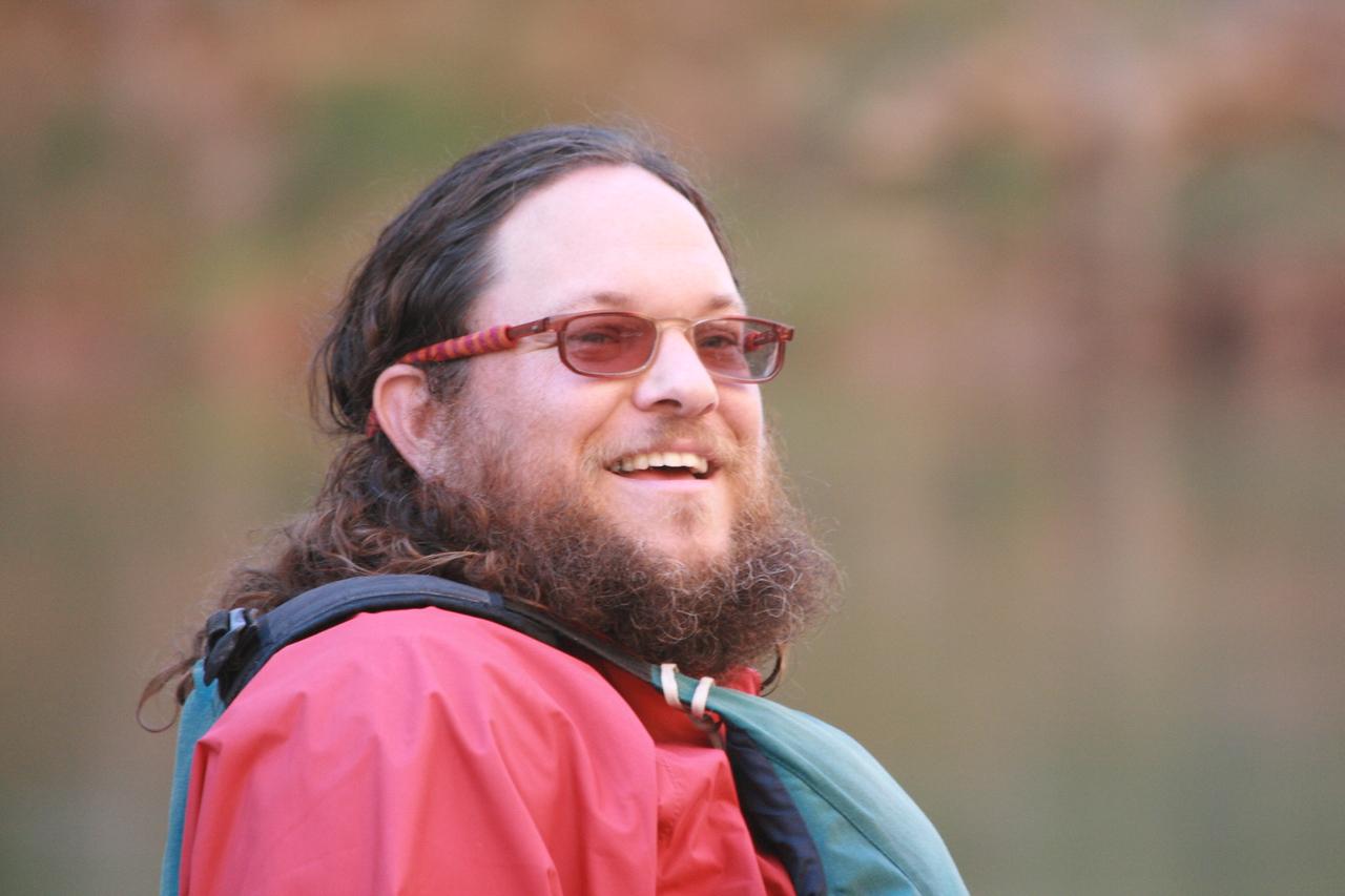 John Samarin, our team hobbit.