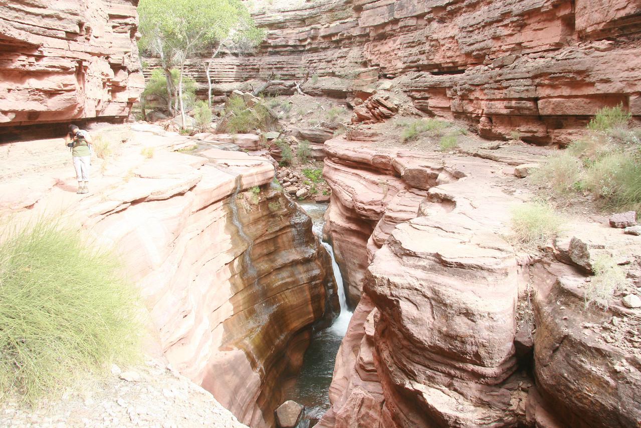 The Tapeats Narrows, above Deer Creek.