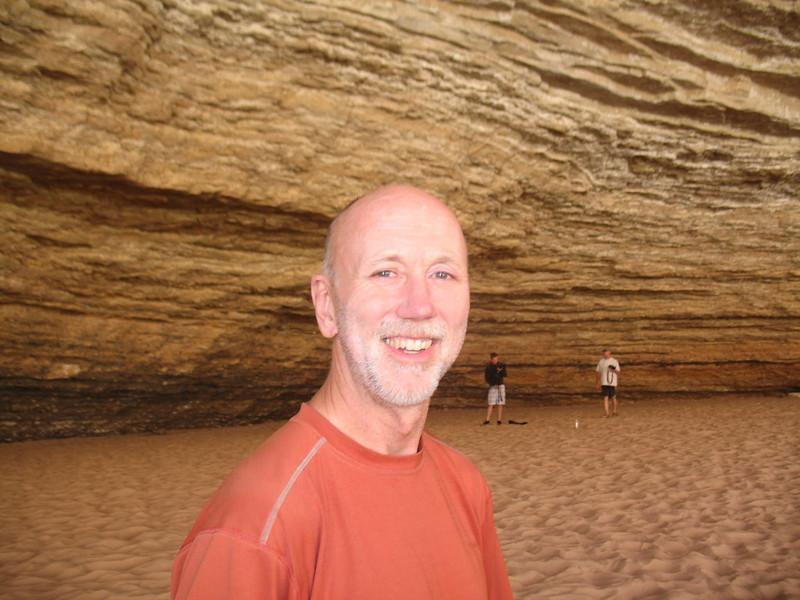 Joe in Redwall Cavern.