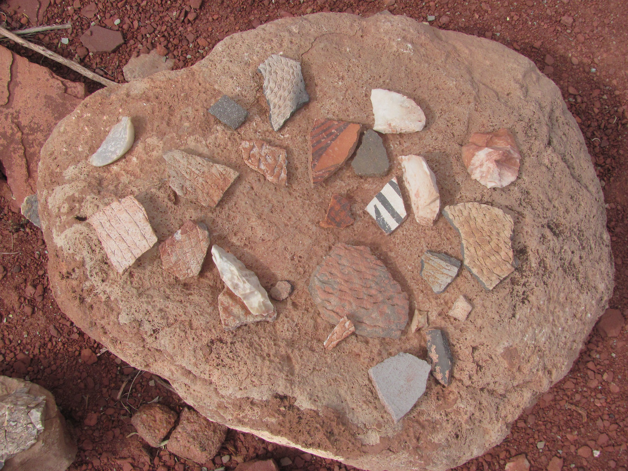 Indian artifacts.