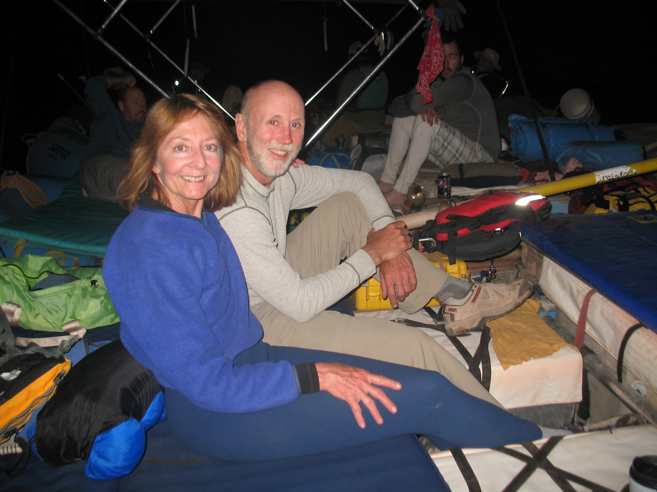 Sherry and Joe during the Night Float.