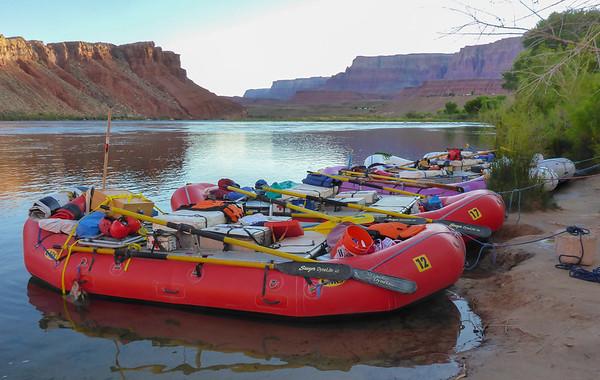 Colorado River Raft Trip May 2016