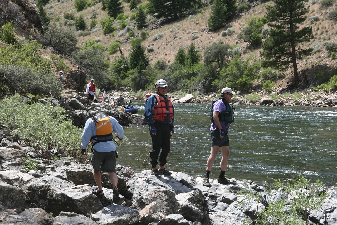 Scouting Tappan Falls