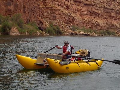 Colorado River Raft Trip April 2014