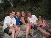 Greg, Chris, Abby, Roger and Paige at Clavey River camp