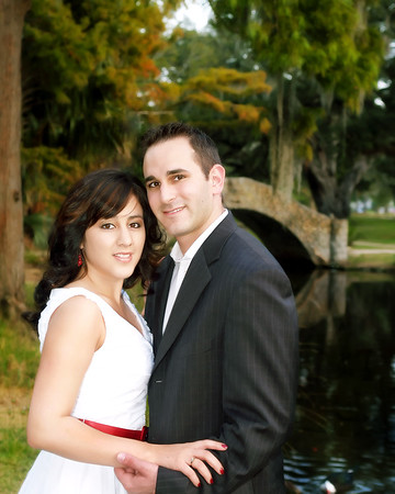 Brent & Cynthia/City Park