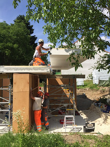 12 movable house Betondecke | concrete roof