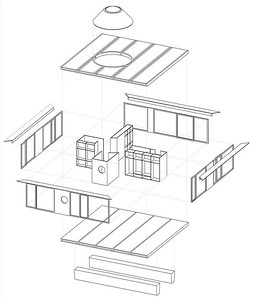01 movable house