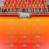 2014 Raiders Wrestling Calendar<br /> Team