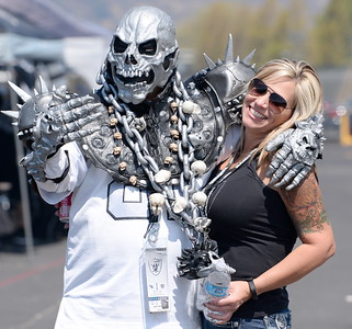 during the Oakland Raiders vs Tennessee Titans preseason game at the Oakland Alameda Coliseum Saturday Aug. 27, 2016. (Bill Husa -- Enterprise-Record)