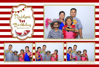 Raidyn's 1st Birthday (Fusion Photo Booth)