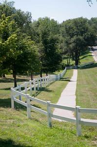 White 2 Rail Fence