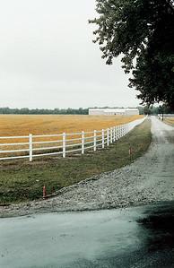 Round Rail Fence