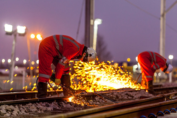 Professional railway photographer PTS certified