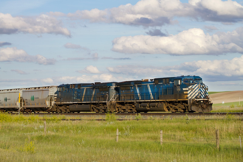 CEFX 1050 and CEFX 1034 near Brooks Alberta.