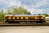 Sperry Rail unit 138 sitting in the CP Rail yard in Dryden.