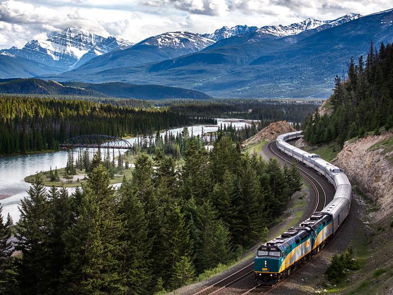 Eastbound Departs Jasper