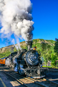 Durango and Silverton No 480