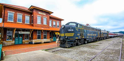 The Elkins West Virginia Depot