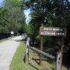 Bridge crossing the South Branch of Blackcreek Creek on the Ghost Town Rail Trail in Pa_Peggy Eyler