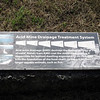 Acid Mine Drainage Treatment System information wayside