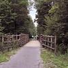 Railroad bridge crossing South Branch of Blacklick Creek for the former Ebensburg & Black Lick Railroad