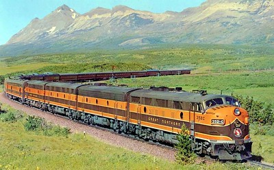 Great Northern Empire Builder - Seattle-May 1965