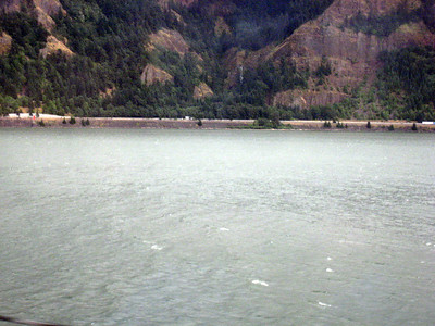 Columbia River From the EMPIRE BUILDER