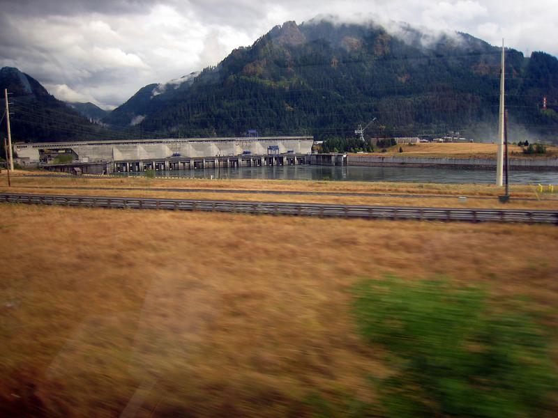 Columbia River Bonneville Dam
